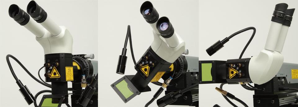レーザー-角度可変式レーザーヘッド